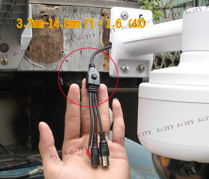 n city 4x zoom outdoor low speed dome ptz camera ss 58 the 1 3 sony ccd camera chip color day night wed pinhole camera is a brand new taiwan handmade backlight compensation function no black face